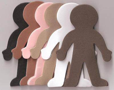 Foam People - Assorted - Pack of 60