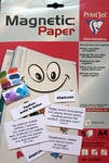 Magnetic Paper - A4 - Pack of 5