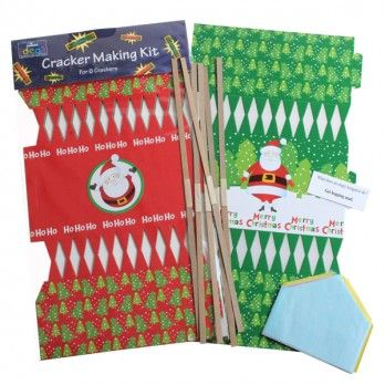 Make Your Own Santa Christmas Cracker Kits - Pack of 6