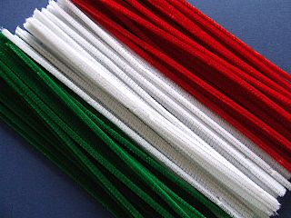 Festive Pipe Cleaners - 30cm - Assorted - Pack of 100