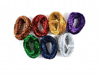Fantasia Tinsel - Assorted - Pack of 7