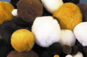 People Pom-Poms - Assorted - Pack of 100