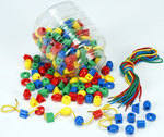 Beads Sorting, Counting & Sequencing - Assorted - Pack of 250