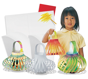 Colour In Chinese Lanterns - Pack of 30