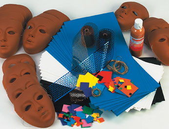 Egyptian Masks Class Pack - Makes 30