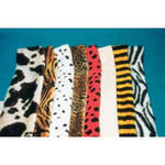 Animal Fur - Assorted - 30 x 150cm - Pack of 8
