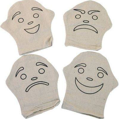 Expressional Puppets - Assorted - Pack of 4