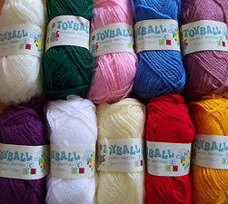 Knitting Wool - Assorted - 20 x 25g (10 colours)