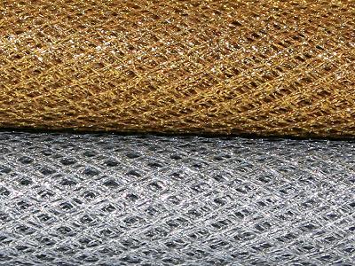 Metallic Net - Assorted - 91cm x 1m - Pack of 2