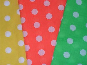 Spotty Fabric - Assorted - 6 x 1m