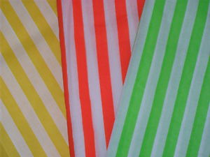 Stripey Fabric - Assorted - 6 x 1m