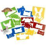 Animal Half-Face Masks - Assorted - Pack of 8