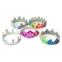 Make Your Own Crowns - Pack of 12