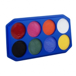 Snazaroo Face Painting Palette - Assorted - 8 x 18ml