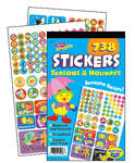 Seasons & Holidays Sticker Reward Pad - Assorted - Pad of 738