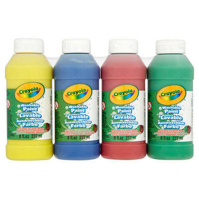 Crayola Washable Paint Set - Assorted - Pack of 12