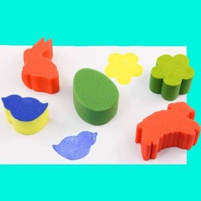 Easter Painting Sponges - Assorted - Pack of 5