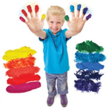 Finger Paint Sensations Kit - Assorted - Pack of 10