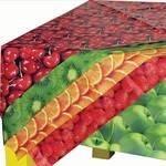 Splash Mats - Fruit Designs - 100 x 150cm - Assorted - Pack of 5