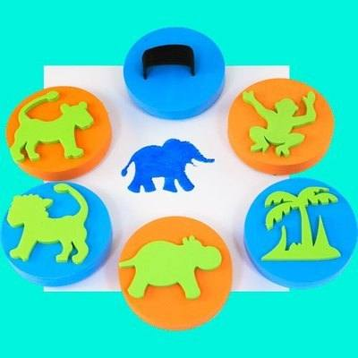 Jungle Palm Printers - Assorted - Pack of 6