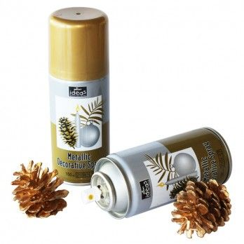 Metallic Spray Paint - Gold - 150ml Aerosol - Each