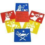 Nativity Washable Stencils - Assorted - Pack of 6