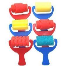Sponge Roller Set - Assorted - Pack of 6
