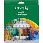 Reeves Acrylic Paint Set - Assorted - Pack of 18