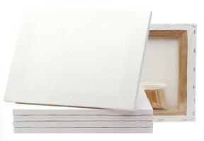Stretched Artist Canvas - 25 x 30cm - Pack of 10