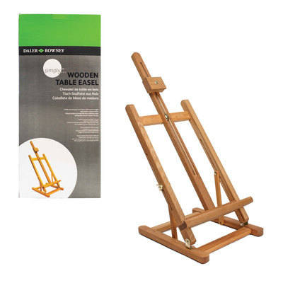 Daler Rowney Wooden Table Easel - Each