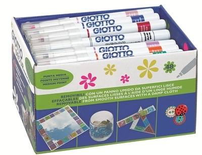 Giotto Decor Pens - Assorted - Class Pack of 48