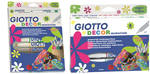 Giotto Decor Pens - Assorted - Pack of 6