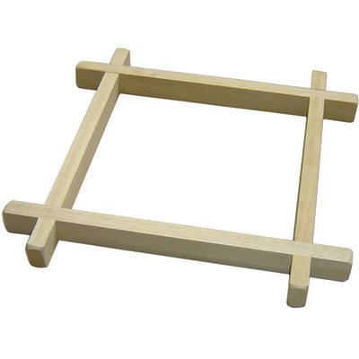 Wooden Batik Frame - 30 x 30cm - Each