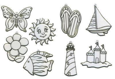 Summertime Suncatchers - Assorted - Pack of 24