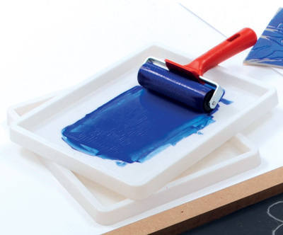 Inking Tray - 25 x 20 x 1.7cm - Each
