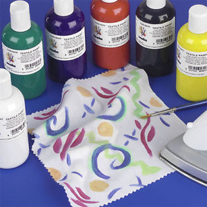 Textile Paint - Assorted - Pack of 6 x 150ml