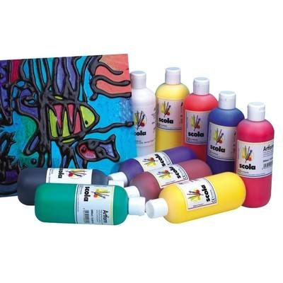 Screen Printing Colour - Assorted - Pack of 10 x 300ml