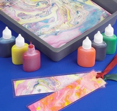 Marbling Inks - Assorted - Pack of 6 x 25ml