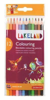 Derwent Lakeland Colouring Pencils - Assorted - Pack of 12