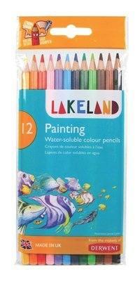 Derwent Lakeland Painting Pencils - Assorted - Pack of 12