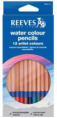 Reeves Watercolour Pencils - Assorted - Pack of 12