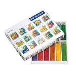 Staedtler Colouring Pencils - Assorted - Class Pack of 288 in Gratnell Tray