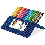 Staedtler Ergo Soft Aquarell Pencils - Assorted - Pack of 24