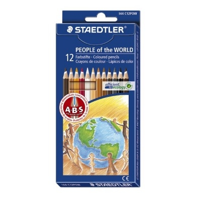 Staedtler People of the World Pencils - Assorted - Pack of 12