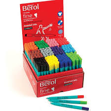 Berol Colour Fine Colouring Pens - Assorted - Class Pack of 288