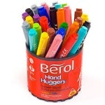 Berol Handhugger Colouring Pens - Assorted - Tub of 36