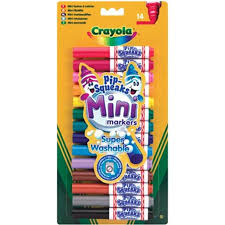 Crayola Pip Squeak Markers - Assorted - Pack of 14 - 3 years+