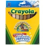 Crayola Multicultural Markers - Assorted - Pack of 8