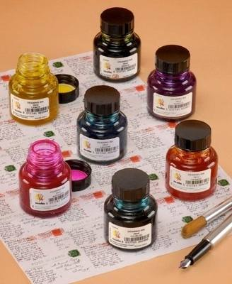 Schoolcraft Drawing Ink Sets - Black - Pack of 12 x 22ml