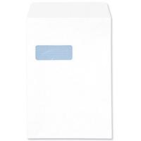 White Window Envelopes - C4 - Self-Seal - 90gsm - Pack of 250